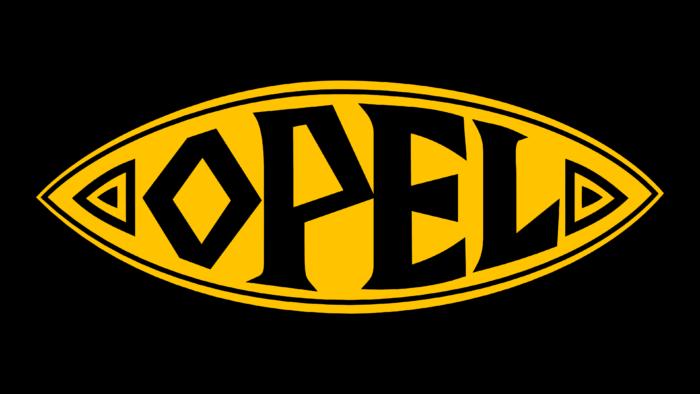 Opel Logo 1924-1937