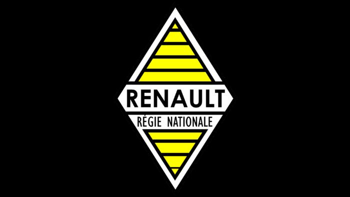 Renault Logo 1946-1958