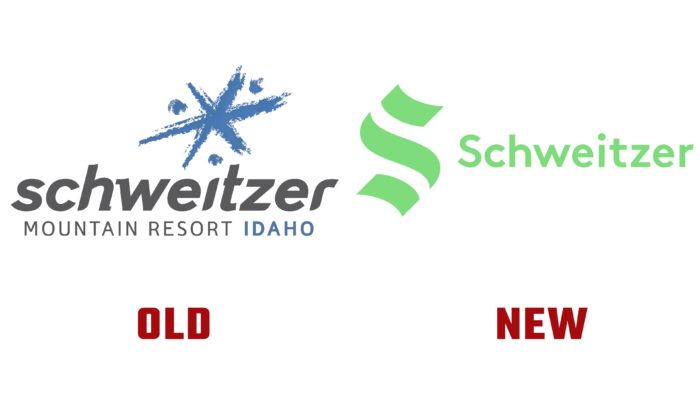 Schweitzer New and Old Logo (history)