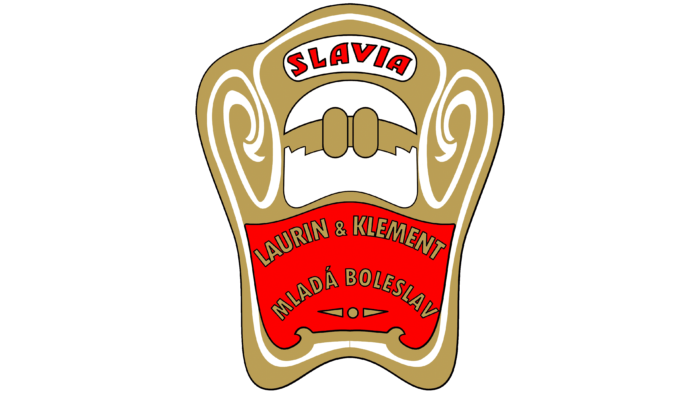 Slavia Logo 1900-1905