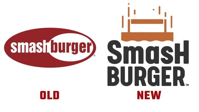 Smashburger New and Old Logo history