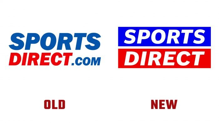 Sports Direct Old and New Logo
