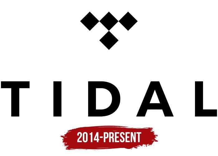 Tidal Logo History