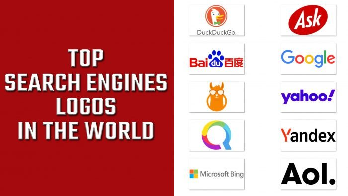 Top Search Engines Logos in the World