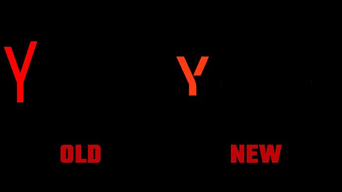 Yandex Logo Old and New Logo history