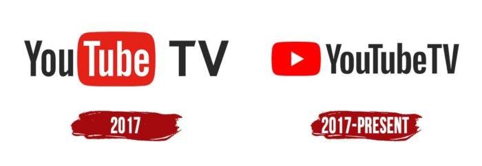 YouTube TV Logo History