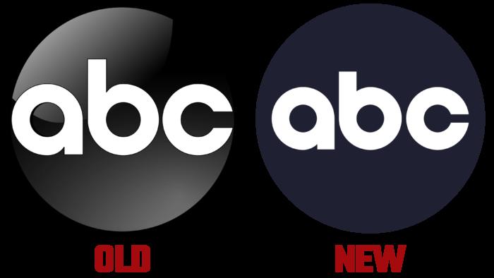 ABC New and Old Logo (history) Logo