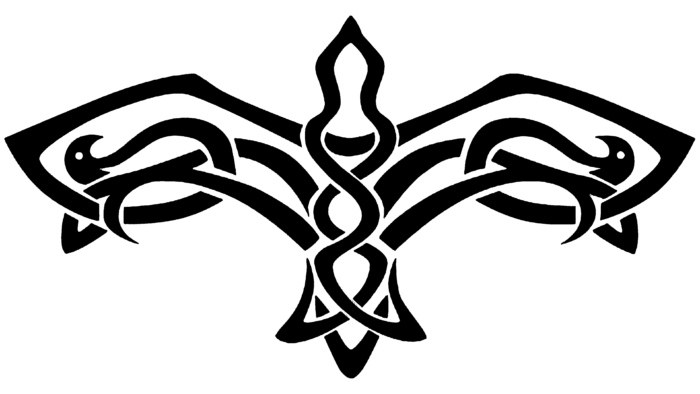 Celtic Bird Symbol