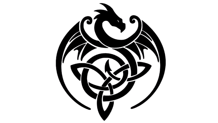 Celtic Dragon Symbol