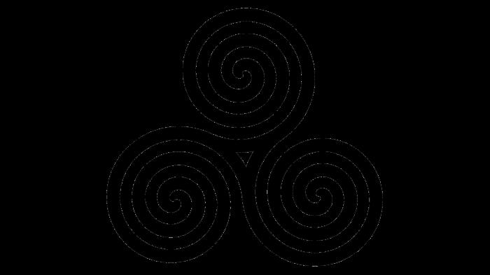 Celtic Spiral symbol