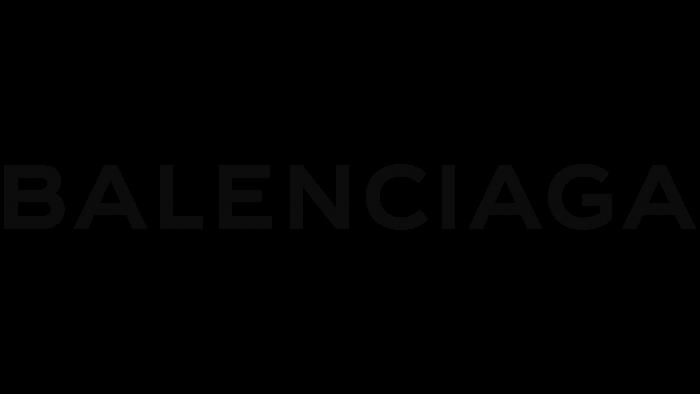 Balenciaga Logo 2013-2017