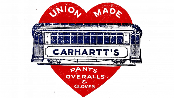 Carhartt Logo 1920s-1940s