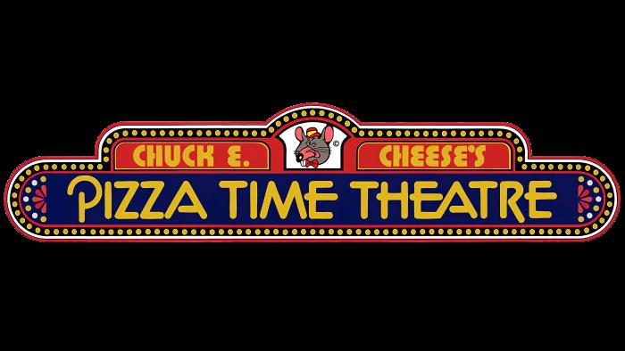 Chuck E. Cheese's Pizza Time Theatre Logo 1977-1981