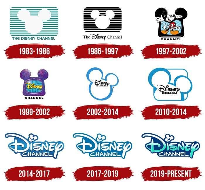 Disney Channel Logo History