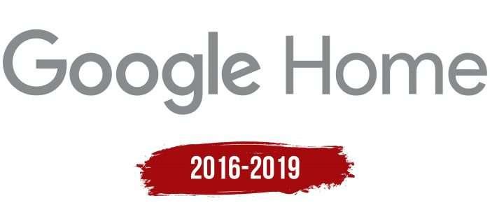 Google Home Logo History