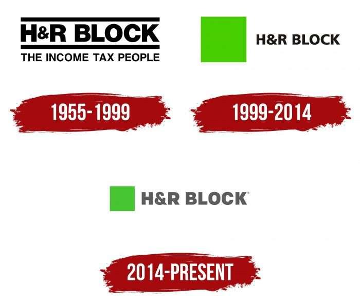 H&R Block Logo History