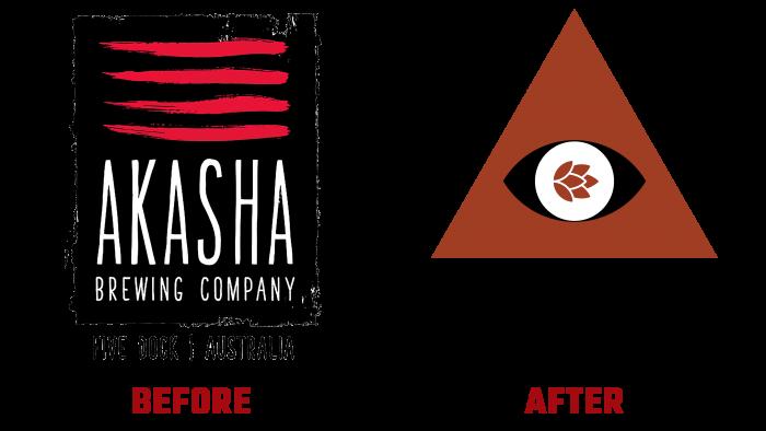 Akasha Before and After Logo (History)