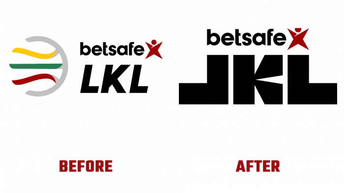 Betsafe-LKL Before and After Logo (history)