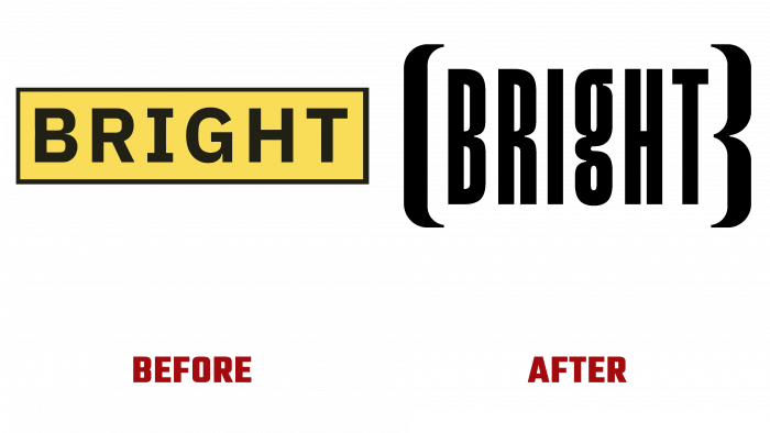 Bright Before and After Logo (history)
