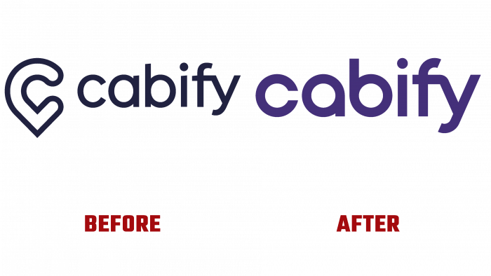 Cabify Before and After Logo (history)