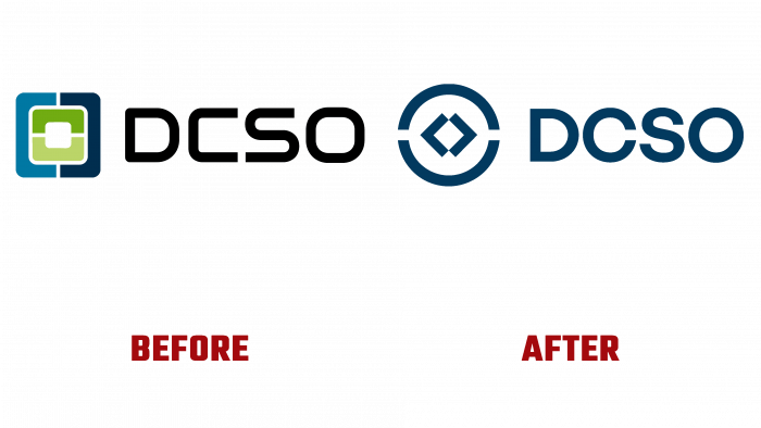 DCSO Before and After Logo (history)