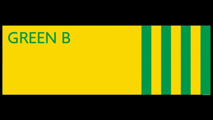 Green B Emblem