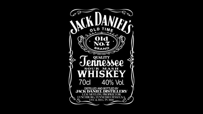 Jack Daniels Logo 1990s-2011