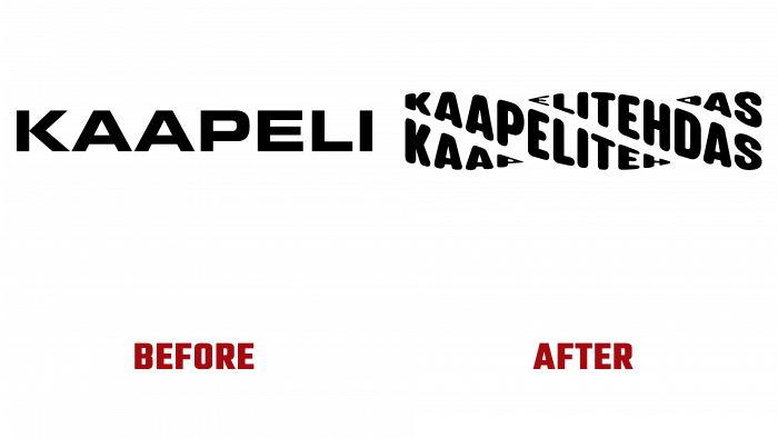 Kaapelitehdas Before and After Logo (history)