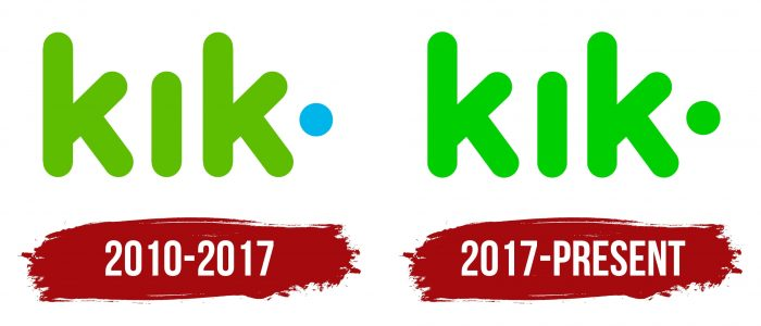 Kik Messenger Logo History