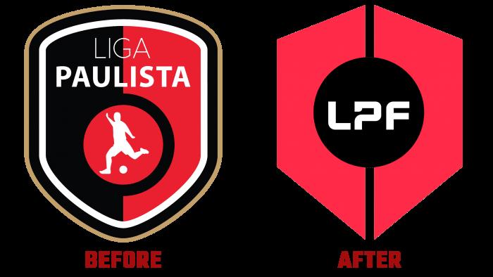 Liga Paulista de Futsal before and After Logo (history)