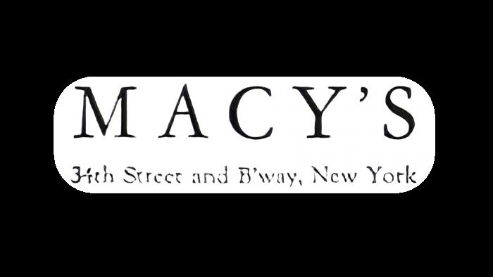 Macys Logo 1938-1948