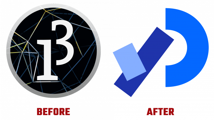 Processing Before and After Logo (history)